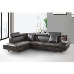 Elena Reversible Chaise Sofa Snoozer Overstuffed Luxury Pet Large Black Sectional Sofas - Comfortable Couches ...