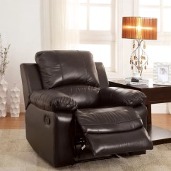 Best Chairs Inc Recliner Reviews Oak Pressed Back Shop Furniture Of America Kender Brown Leather - Free Shipping Today Overstock.com ...