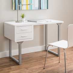White Desk Chairs Target Wedding Chair Cover Hire Kings Lynn The Condo Project 12 Minimalist Desks To Buy Or Diy