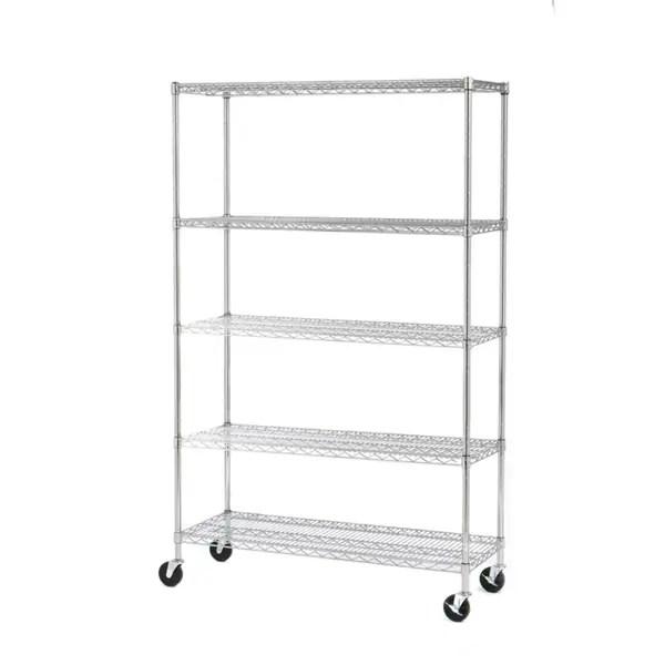 Seville Classics 5-shelf UltraZinc Steel Wire Shelving