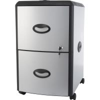 Two Drawer Metal/ Plastic File Cabinet - Free Shipping ...