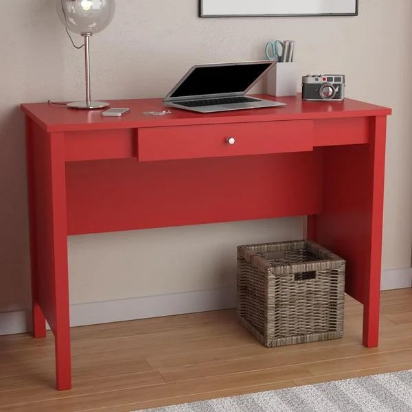 Shop Avenue Greene Ruby Red Desk  Free Shipping Today