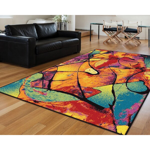 Alise Rhapsody Multi Area Rug 5 x 8  53 x 73  Free Shipping Today  Overstock  16956659