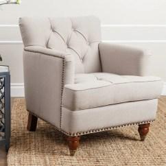 Tafton Club Chair Pedicure Massage Shop Abbyson Beige Linen On Sale Free Shipping