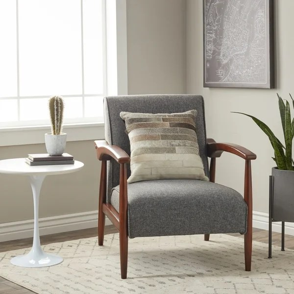 overstock arm chair antique louis xvi dining chairs shop carson carrington gracie mid century grey free