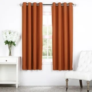 Exclusive Fabrics Blaze Grommet Blackout Thermal Curtain Panel