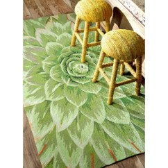 Green Kitchen Rug How Much Does A Remodel Cost Shop Nuloom Handmade Bold Abstract Floral 5 X 8 X27