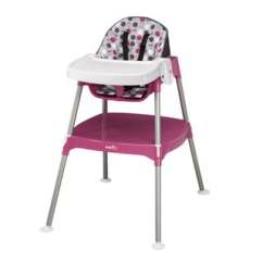 Booster High Chairs Swing Chair With Stand Malaysia Seats Find Great Feeding Deals Shopping At Evenflo Dottie Rose Pink Convertible 3 In 1