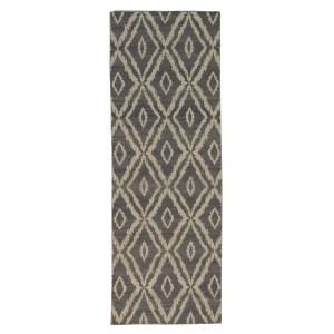 Runner Geometric Kilim Handmade Reversible Oriental Area Rug - 2'8 x 7'9