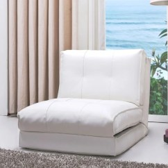 White Leather Chairs For Sale Swing Hammock Chair Shop Abbyson Jackson Single Sleeper On