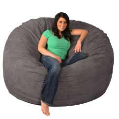 7ft Sofa Cover Rolf Benz Reviews Giant Memory Foam Bean Bag 6-foot Chair | Ebay