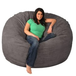 6 Foot Bean Bag Chair European Touch Pedicure Manual Shop Giant Memory Foam 6-foot - On Sale Free Shipping Today Overstock.com ...