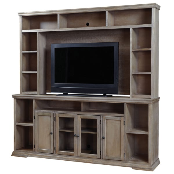 Art Van Oak Canyon 84 Inch Console With Hutch 17101509