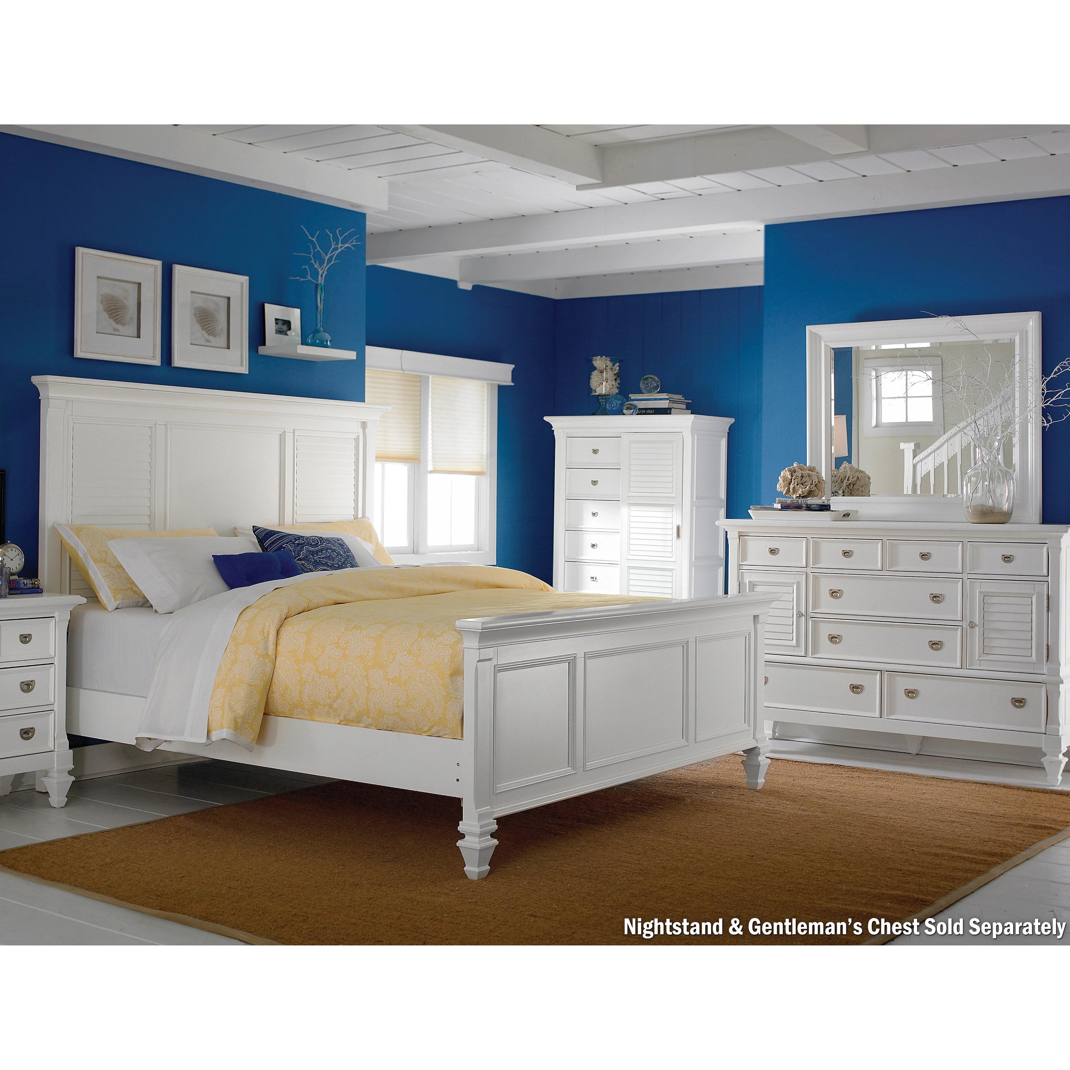 art van breeze white 3 piece queen bedroom
