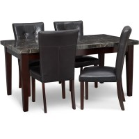 Shop Art Van Table and 4 Dining Chairs - Free Shipping ...
