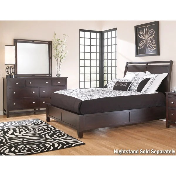 Art Van Hudson 3piece King Bedroom  Overstock Shopping