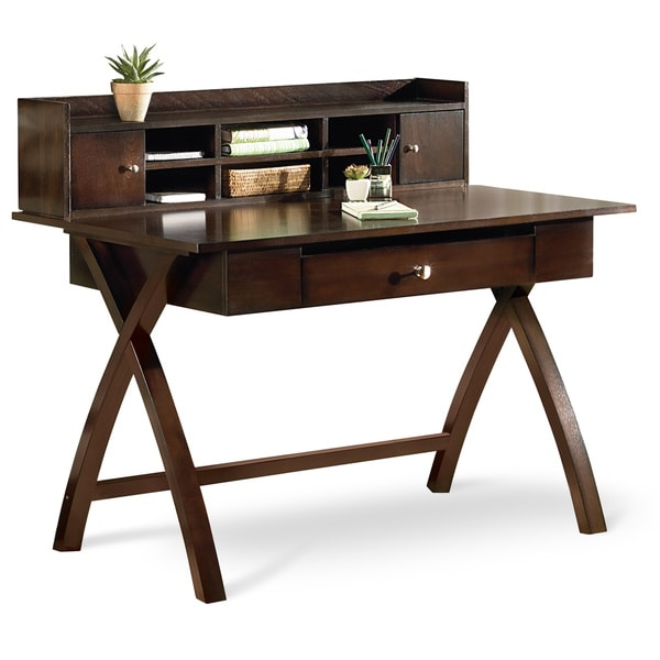 Shop Art Van Sparta Desk with Hutch  Free Shipping Today