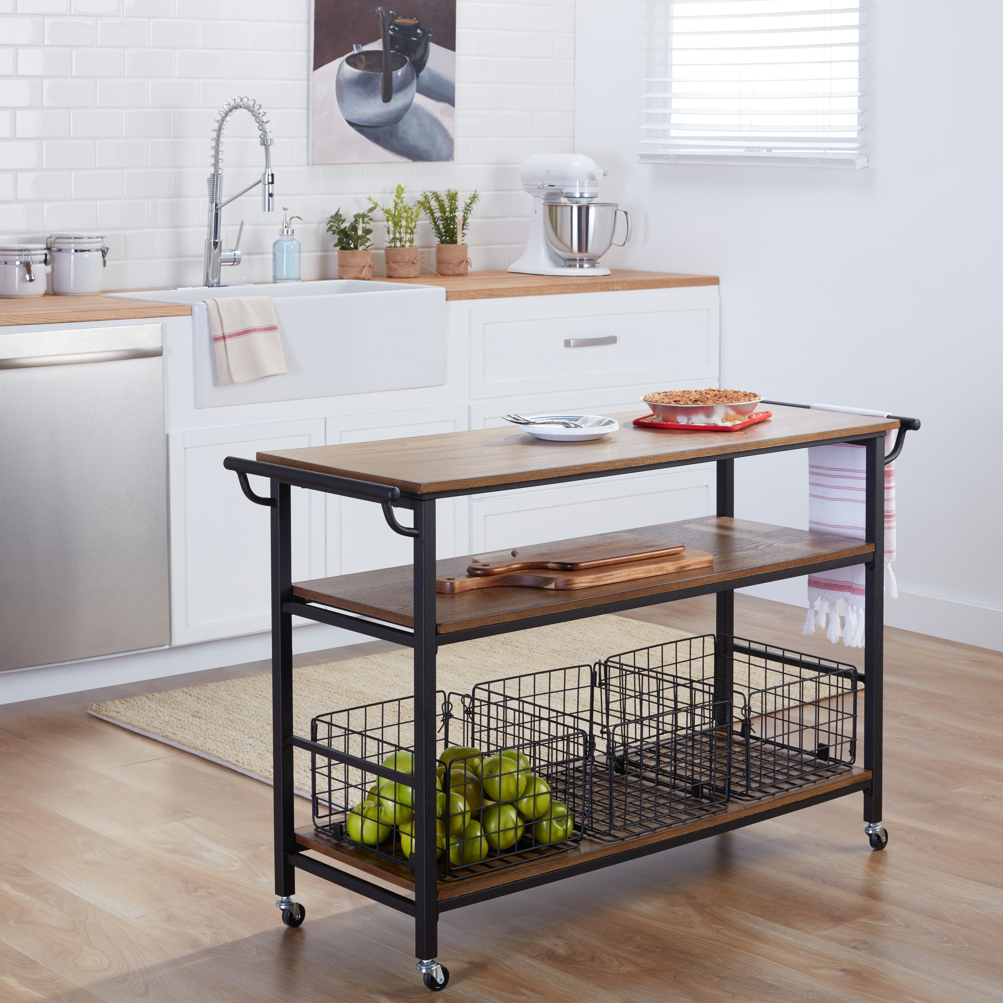 kitchen island with drop leaf clearance track lighting kits buy carts online at overstock.com | our best ...