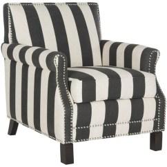 Tafton Club Chair Repair Patio Seat Safavieh Easton Black And White Stripe - 17136318 Overstock.com Shopping Great ...