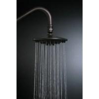 Shop Rainfall Oil Rubbed Bronze 6 inch Shower Head   Free ...