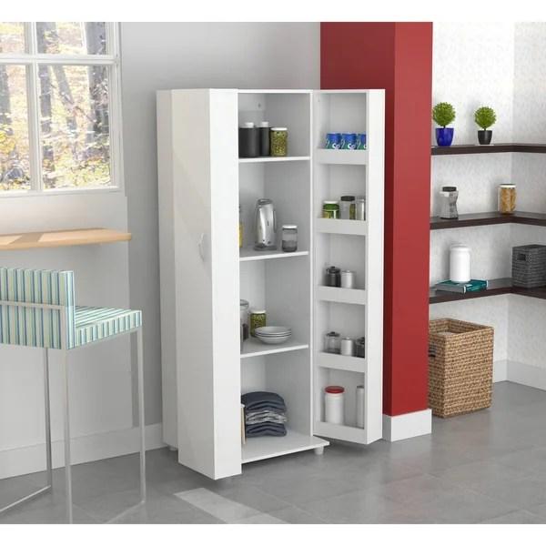 storage cabinets kitchen interior design shop inval laricina white cabinet on sale free