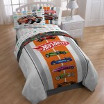 Hot Wheels Full Size 5 Piece Bed In A Bag With Sheet Set Overstock 6325847