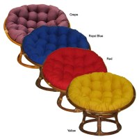 Youth-sized Cushioned Papasan Chair - Free Shipping Today ...