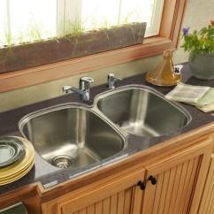 Overstock Kitchen Sinks Lowes Cabinet Doors Franke Under Mount Stainless Steel Sink - Free ...