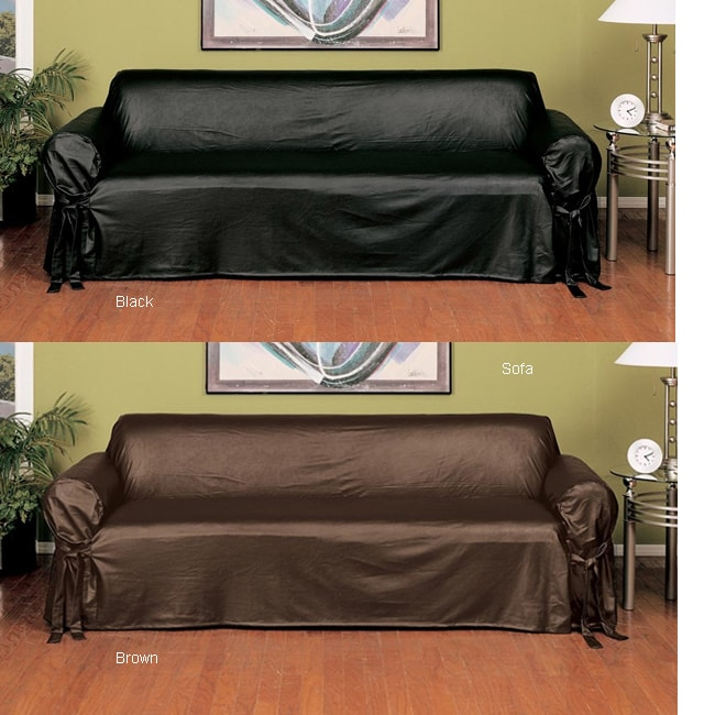 chair protector covers teak steamer chairs canada faux leather slipcover (sofa) - free shipping today overstock.com 1015528