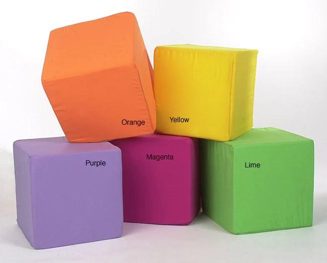 Shop Neat Seat Foam Cube Ottoman  Free Shipping On Orders