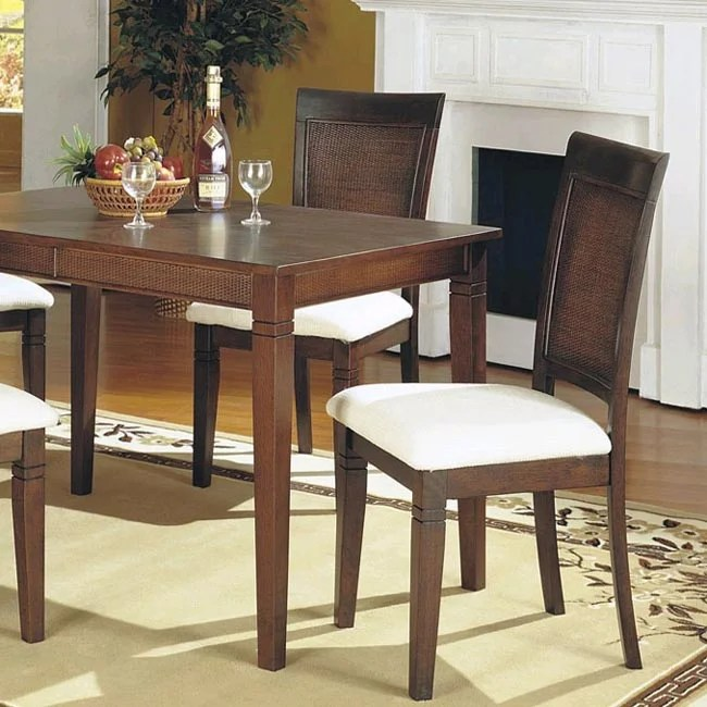cane back dining room chairs chevy tahoe with captain shop set of 2 free shipping today thumbnail
