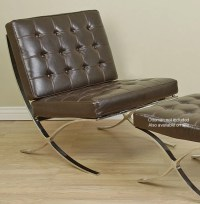 Barcelona Style Dark Brown Chair - Free Shipping Today ...
