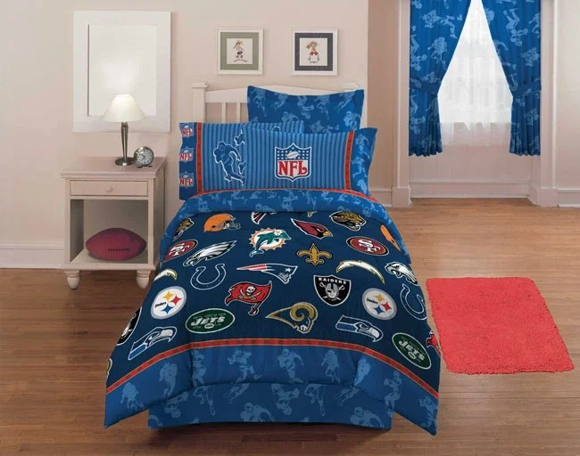 NFL Playoff Complete Bedding Ensemble  Free Shipping