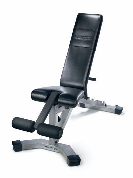 Nautilus Nt 1020 Adjustable Fitness Bench Free Shipping