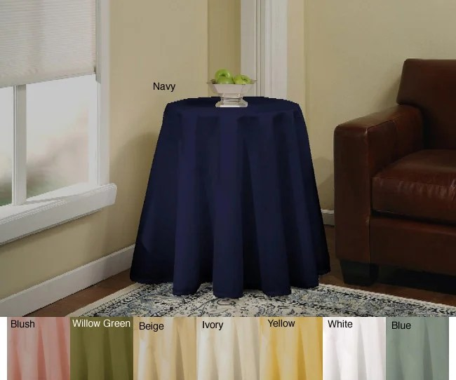 36 inch round kitchen table redoing cabinets solid 70-inch tablecloth - free shipping on orders ...