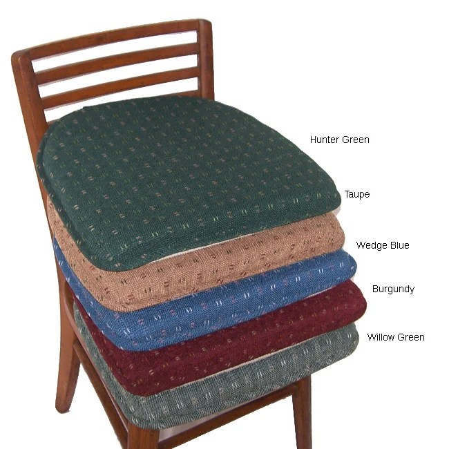 home goods dining chair cushions church chairs canada dash foam non-slip pad set (set of 4) - free shipping on orders over $45 overstock.com ...