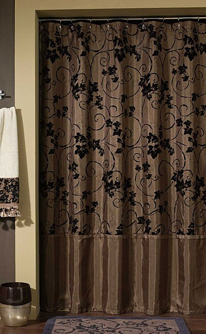 Croscill Eden Chocolate Shower Curtain 11258849 Shopping Great Deals On