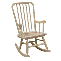Jenny Lind Rocking Chair Folding Camp With Side Table Shop Whitewash Adult Rocker Free Shipping Today