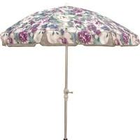 Purple/ Green 7.5-foot Patio Umbrella - Free Shipping ...