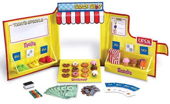 Pretend Play Snack Shop 104 Piece Toy Set Free