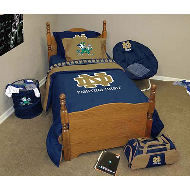 Notre Dame Bedding Ensemble  Free Shipping Today  Overstockcom  11584467