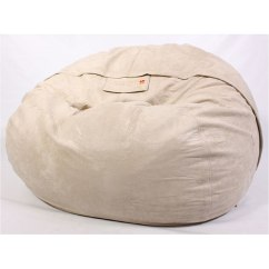 Mushroom Bean Bag Chair Ebay Folding Chairs Shop Lovesac Foam Plush Tan Lounge Free Shipping Today Overstock Com 3546363