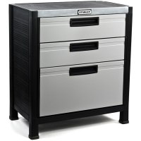 Stanley 3-drawer Garage Cabinet - Free Shipping Today ...