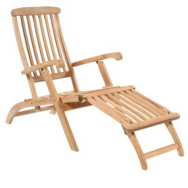 teak steamer chair for sale shop classic free shipping today overstock thumbnail