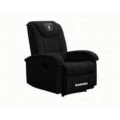 Oakland Raiders Chair Basket Swing Shop Microfiber Recliner Free Shipping Today Thumbnail