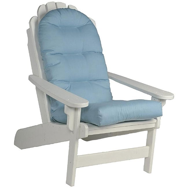 outdoor swivel rocker chair cheap leather chairs blue adirondack cushion - free shipping today overstock.com 12645612