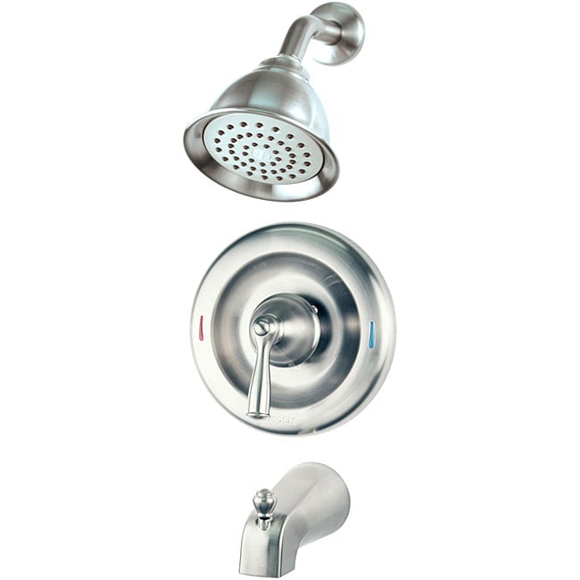 Moen Banbury Brushed Nickel Tub Shower Faucet  Free Shipping Today  Overstockcom  12712876