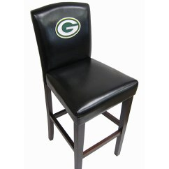 Green Bay Packers Chair Wood Desk On Wheels Shop Nfl Bar Stools Set Of 2 Free Shipping Thumbnail