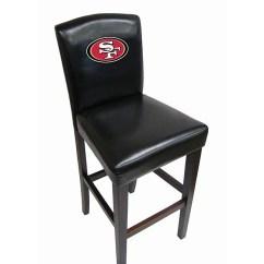 49ers Camping Chair Wheelchair Quotation Shop Nfl San Francisco Bar Stools Set Of 2 Free Shipping Thumbnail