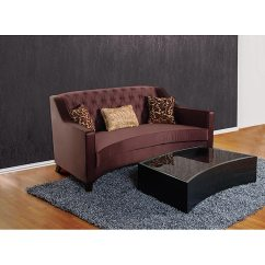 Eggplant Sofa Velvet Dark Blue Shop Modern Sheer Fabric Free Shipping Today Overstock Com 4859415